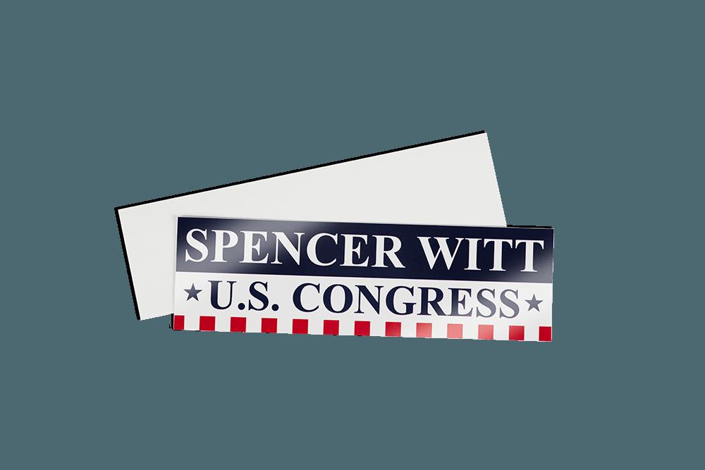 bumper sticker campaign political PNG