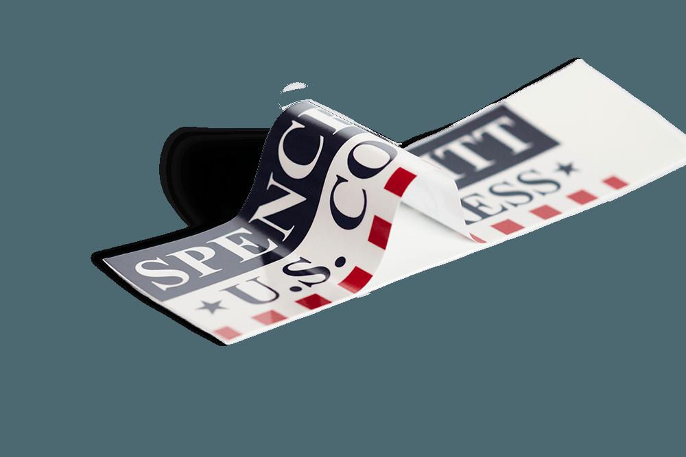 campaign political bumper sticker PNG