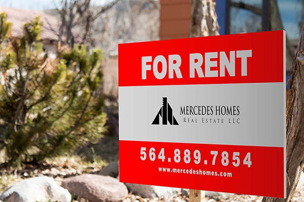 For Rent Signs & Banners