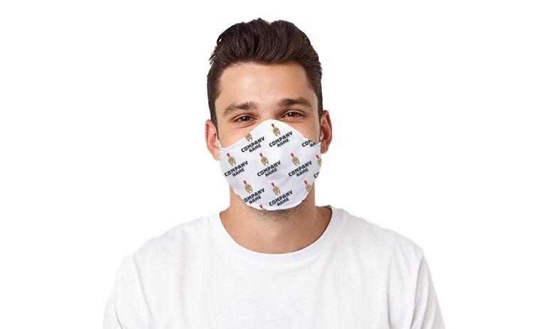 custom company face mask