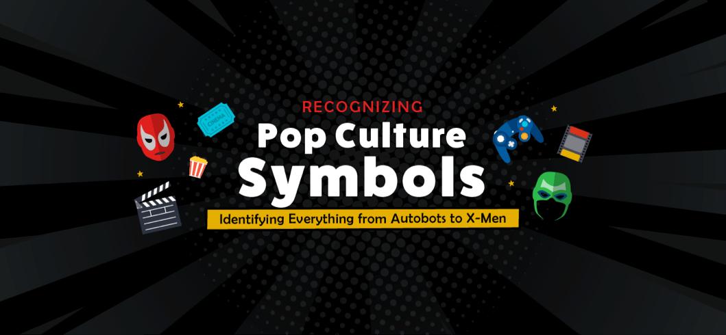 Signs Recognizing Pop Culture Symbols