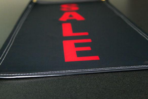 Sale Fabric Banner