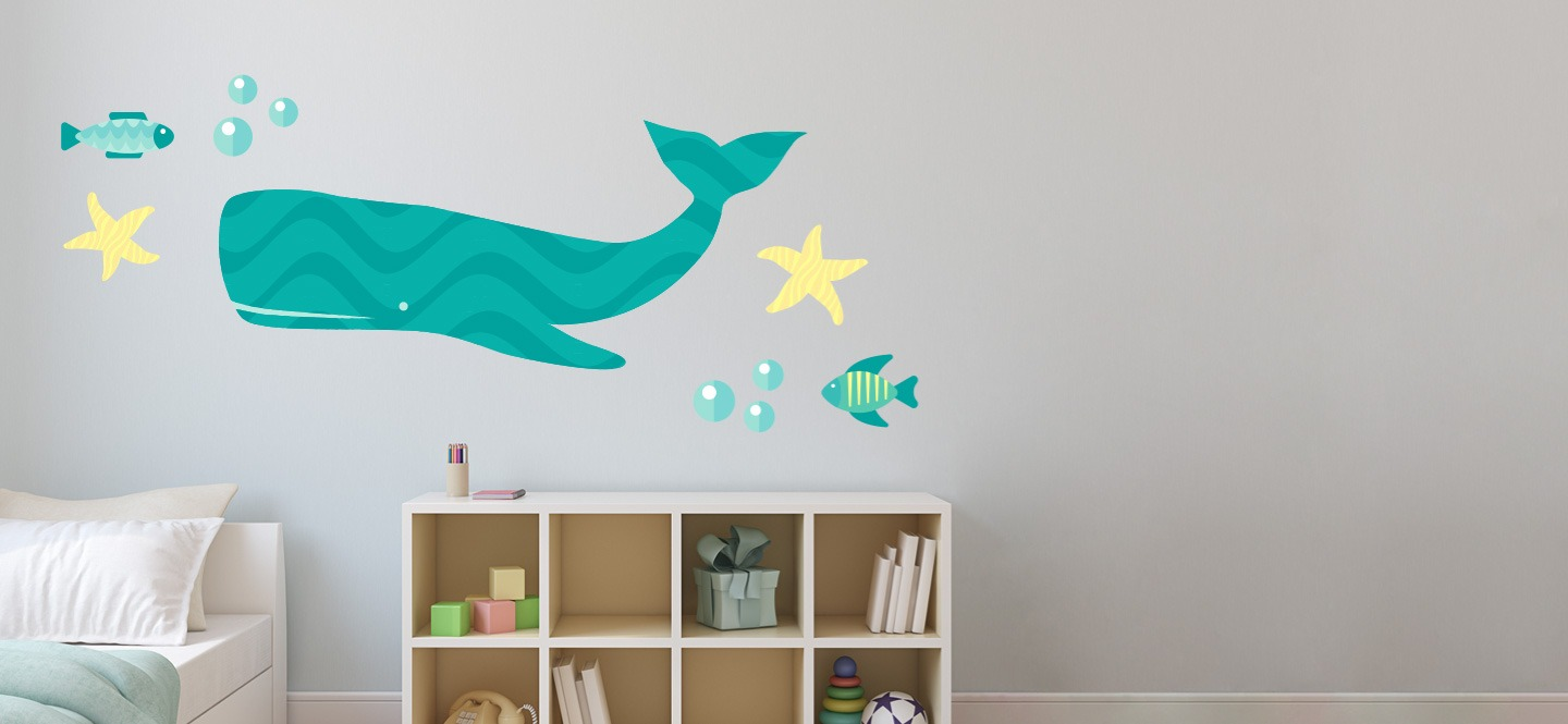 Custom Wall Stickers Graphics For Home Kids Signs